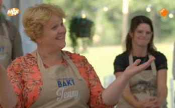 Jenny hoort dat ze naar huis mag bij Heel Holland bakt